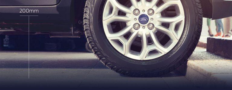 khoảng sáng gầm xe Ford Ecosport 2017