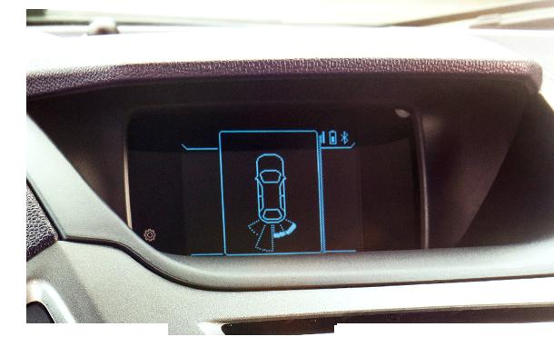cảm biến của xe Ford Ecosport 2017